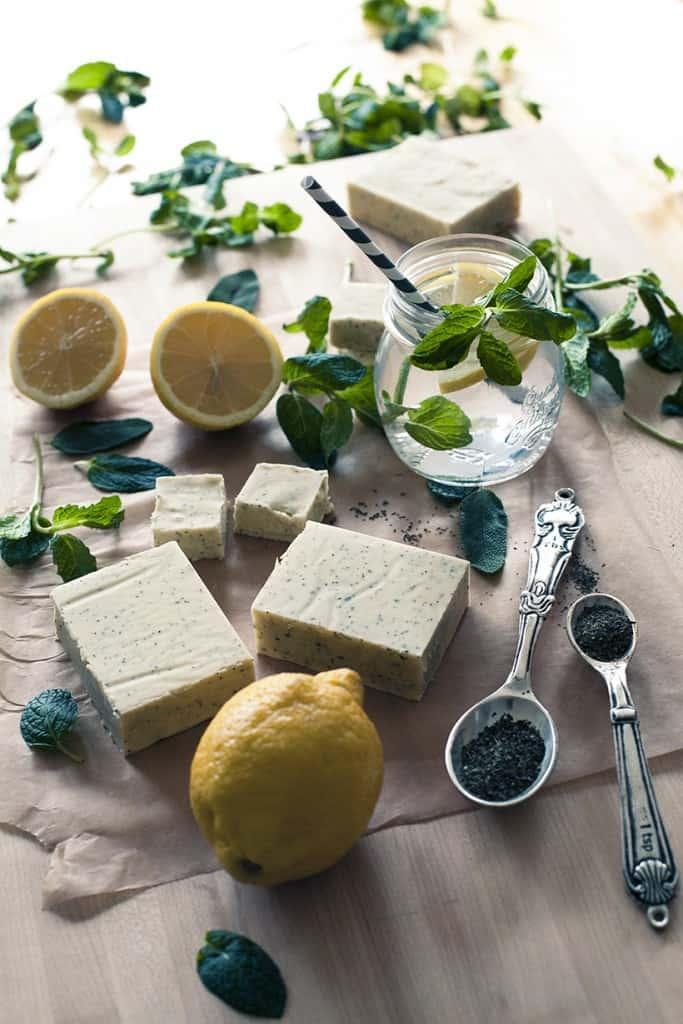 Lemon Herb Soap
