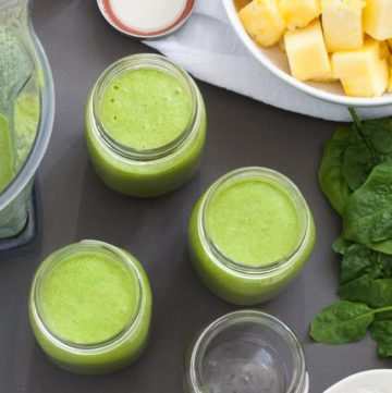 How to Prep a Weeks Worth of Green Smoothies / Hello Glow