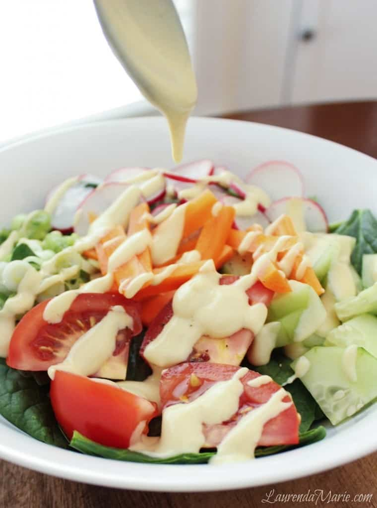 Yogurt Honey Mustard Dressing
