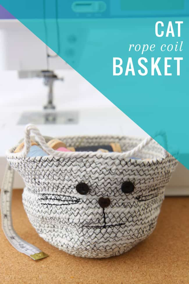 cat diy rope basket helloglowco cat lovers 27 diy