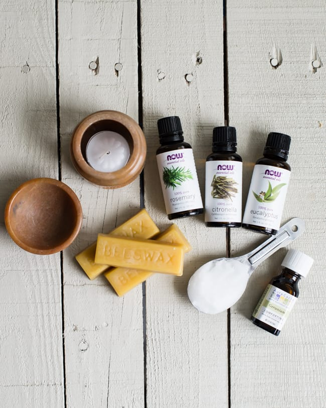 citronella wax diffuser ingredients