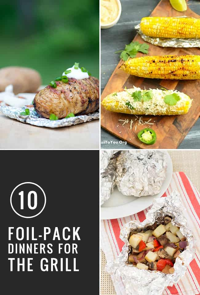 10 Foil-Pack Dinners for the Grill | HelloGlow.co