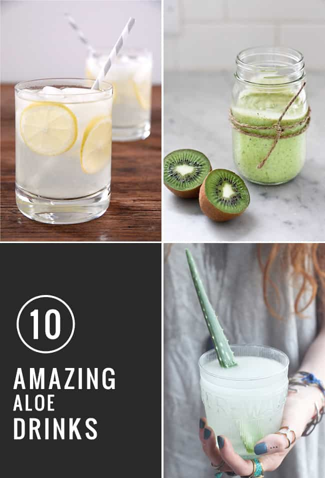10 Amazing Aloe Drinks | Hello Glow