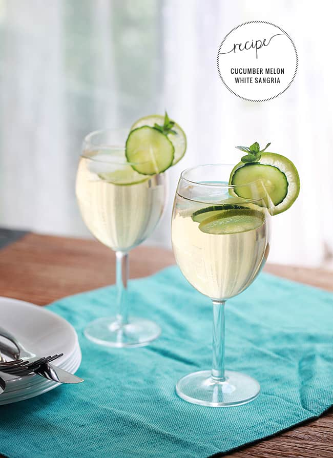 The Best White Sangria for Summer | HelloNatural.co