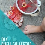 <b>DIY:</b> Recycled Shell Collector Bag