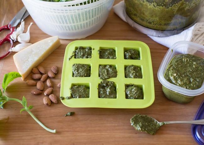 The Perfect Freezer Pesto | HelloGlow.co
