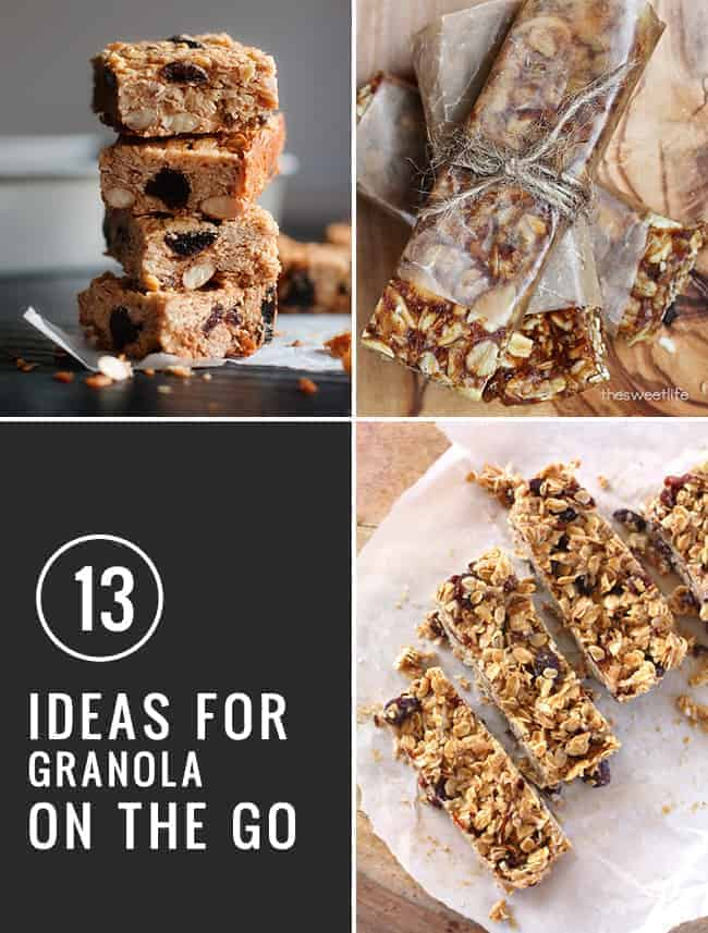 13 Ideas for Granola on the Go | Henry Happened