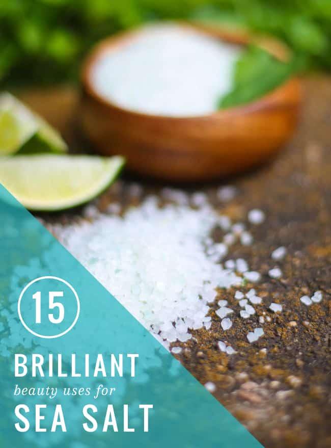 15 Beauty Uses for Sea Salt | HelloGlow.co