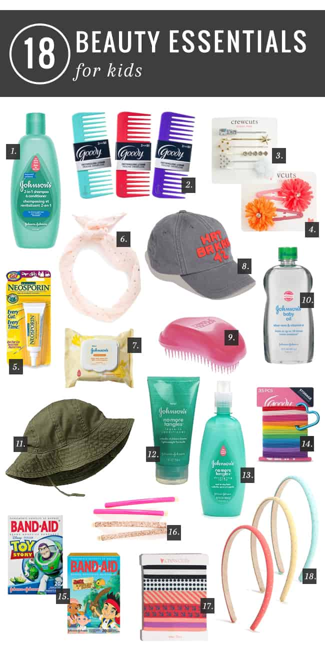 18 Essential Back-to-School Beauty Products for Kids