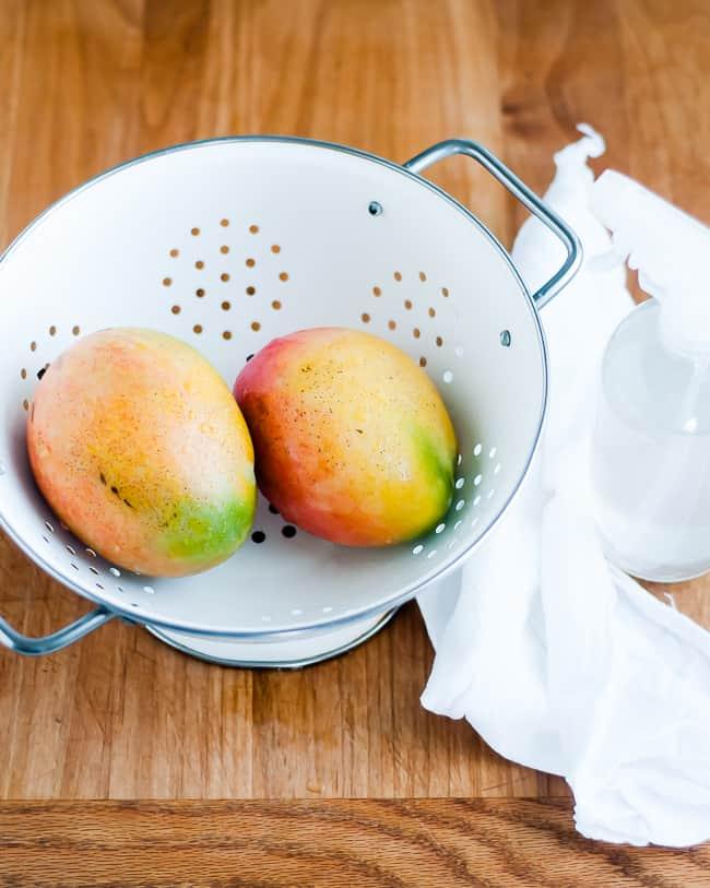 DIY Fruit and Veggie Wash