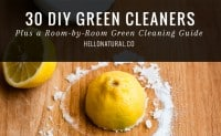 30 DIY Green Cleaners | HelloNatural.co