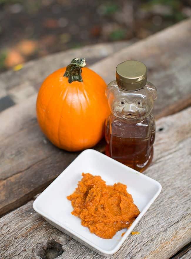 Pumpkin Honey Hair Mask
