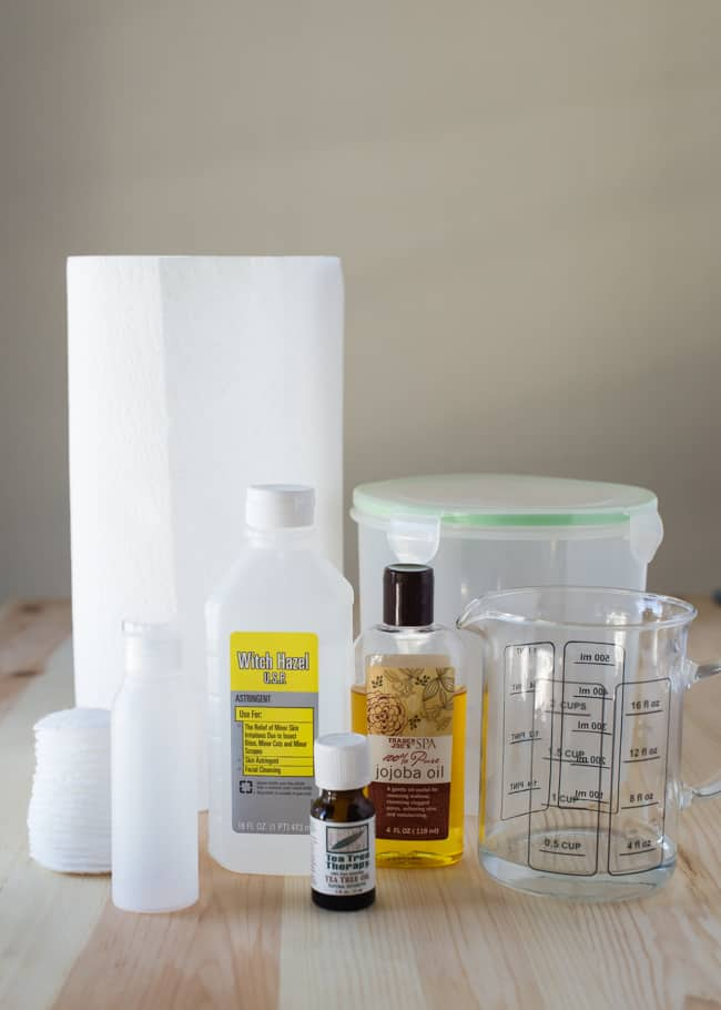 DIY Makeup Remover Wipes : HelloNatural.co