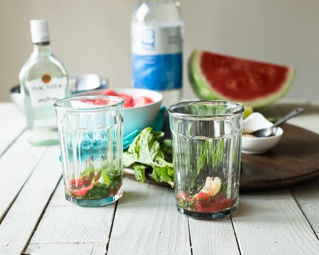Minty Watermelon Mojito Recipe | HelloGlow.co