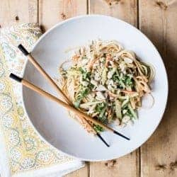 15-Minute Sweet + Spicy Cold Peanut Noodles Recipe