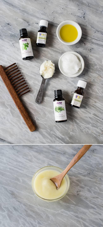 DIY Deep Hair Conditioner With Argan Oil