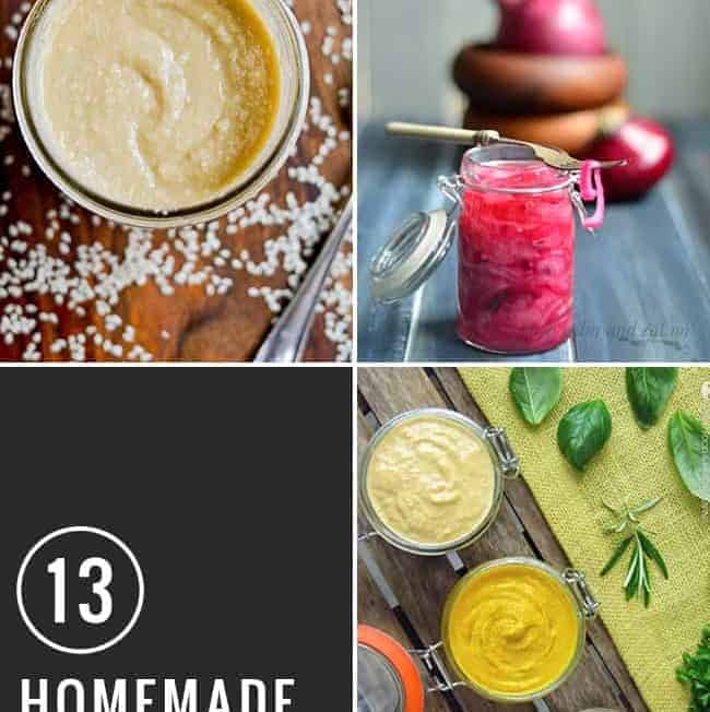 13 Condiment Recipes to Make at Home | Hello Glow