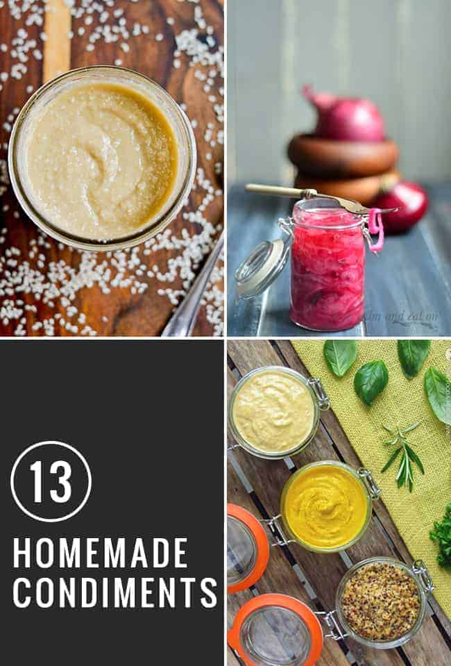 13 Recipes for DIY Condiments | HelloGlow.co