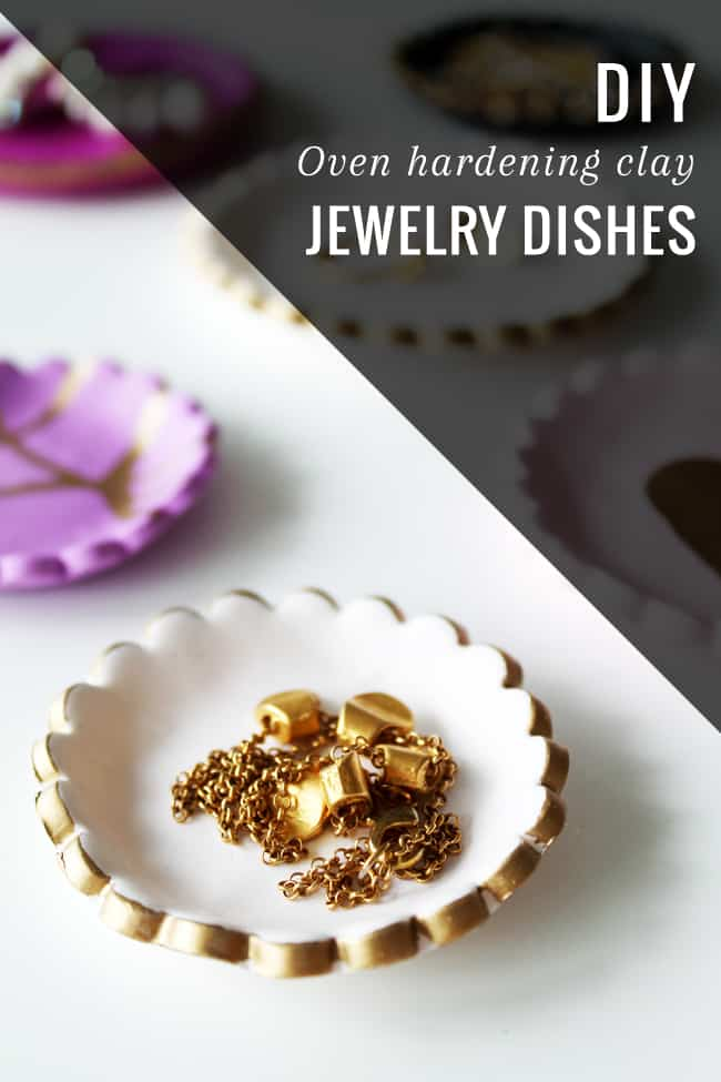 Easy DIY Clay Jewelry Dish | HelloGlow.co