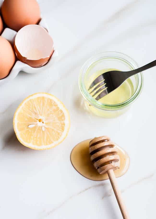 Egg White + Honey Face Lift
