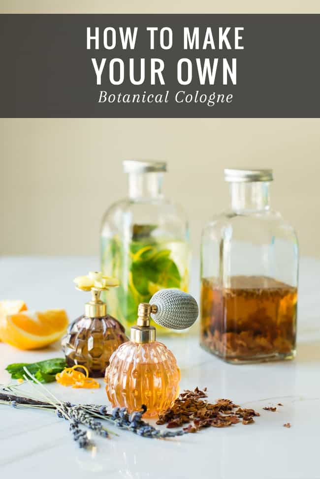 DIY Botanical Cologne | HelloGlow.co