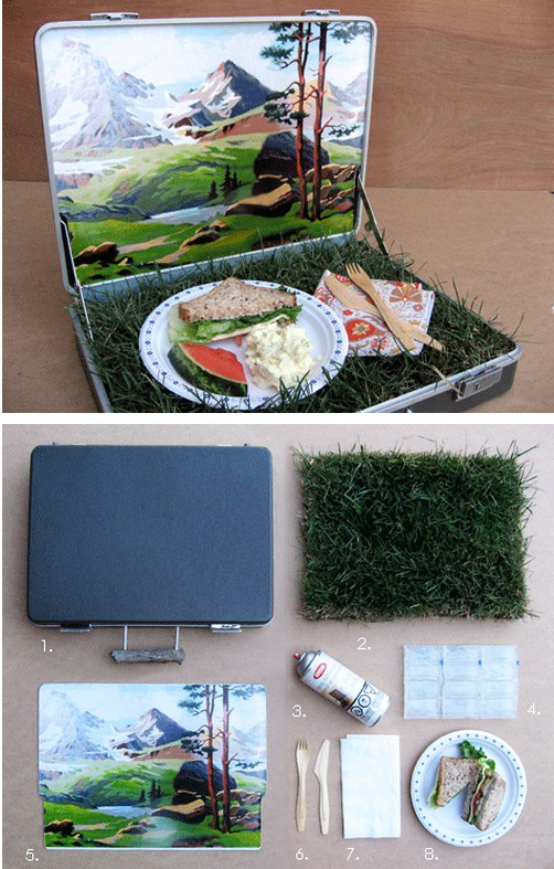 Mountain Vista Picnic Basket