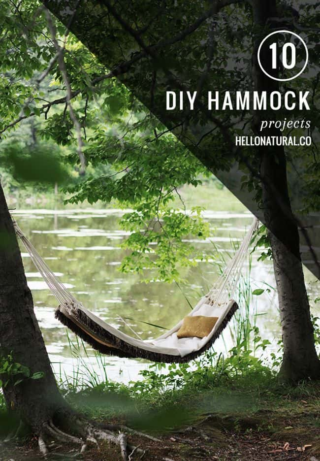 10 DIY Hammocks | HelloGlow.co