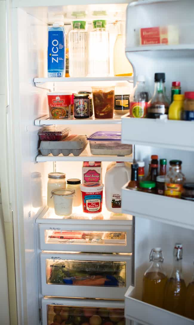 How to Clean + Organize Your Fridge | HelloGlow.co