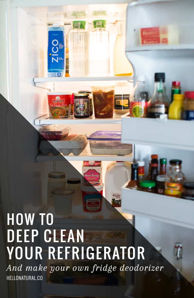 How To Deep Clean Your Fridge | HelloGlow.co