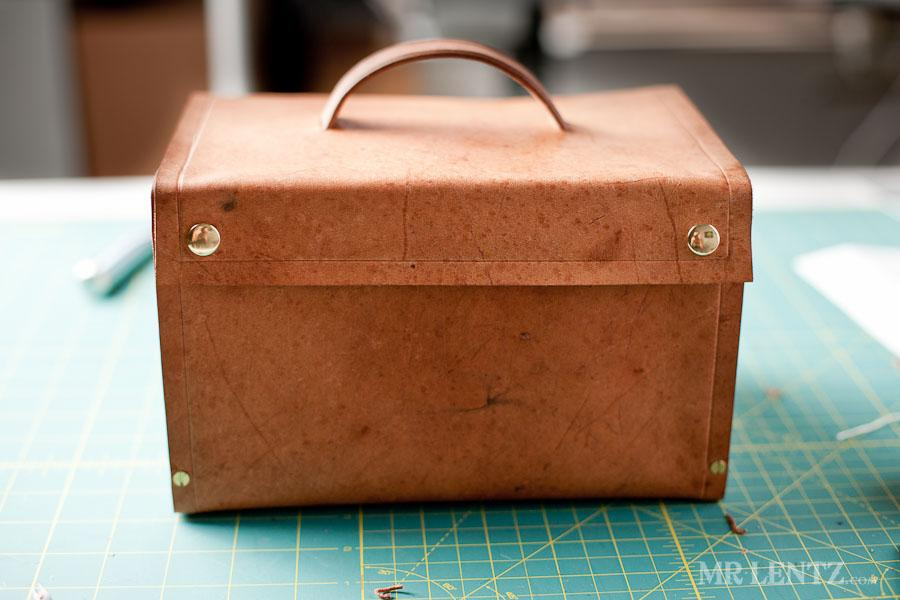 Leather Lunch Box