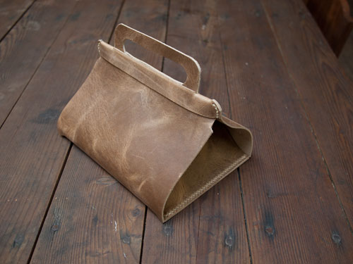 Upscale Leather Lunch Bag
