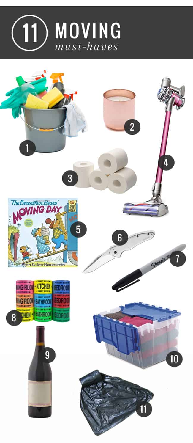 11 Moving Must Haves | HelloGlow.co