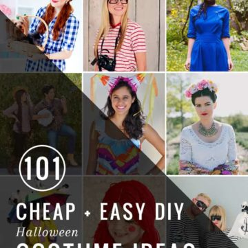 101 Easy Halloween Costume Ideas | HelloGlow.co