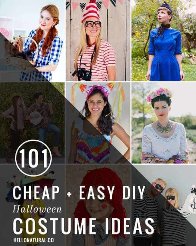 101 Easy Halloween Costume Ideas | HelloGlow.co  sc 1 st  Hello Glow & 101 Easy DIY Halloween Costume Ideas | HelloGlow.co