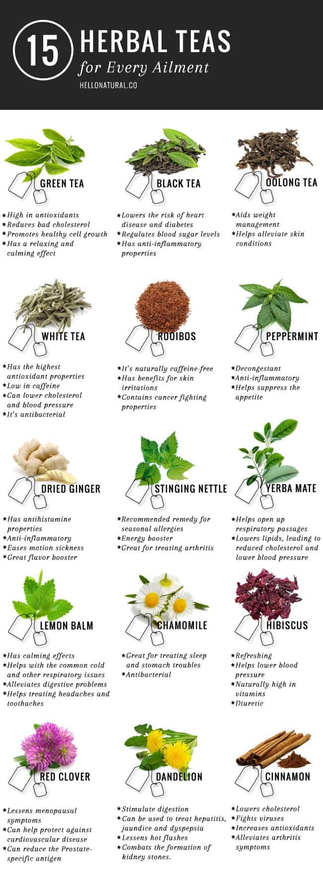 Health Benefits of Tea | HelloGlow.co