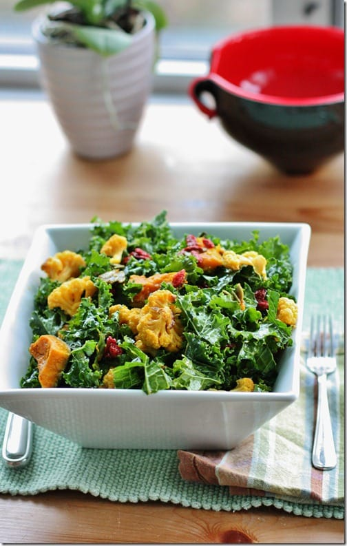 Kale Salad with Goji Berries