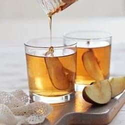 Honey Bourbon Apple Cider Cocktail