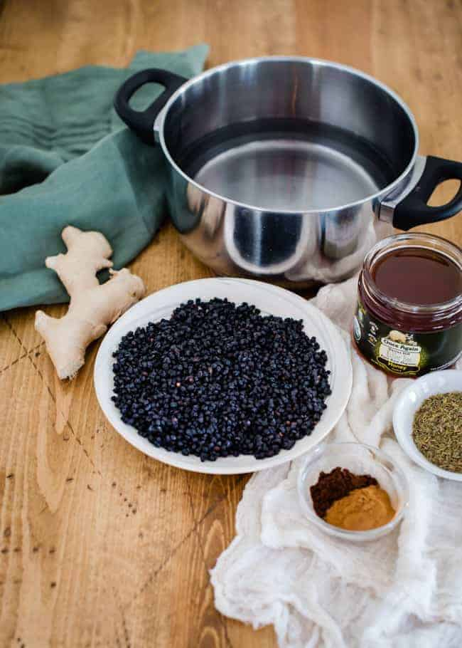 DIY Elderberry Syrup | HelloGlow.co