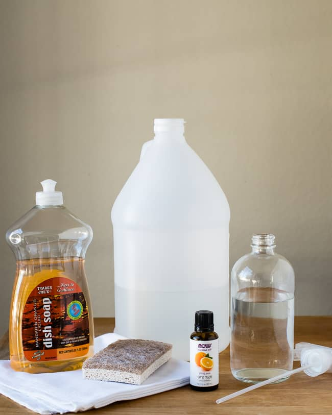 DIY Natural Fridge Cleaner Spray | HelloGlow.co