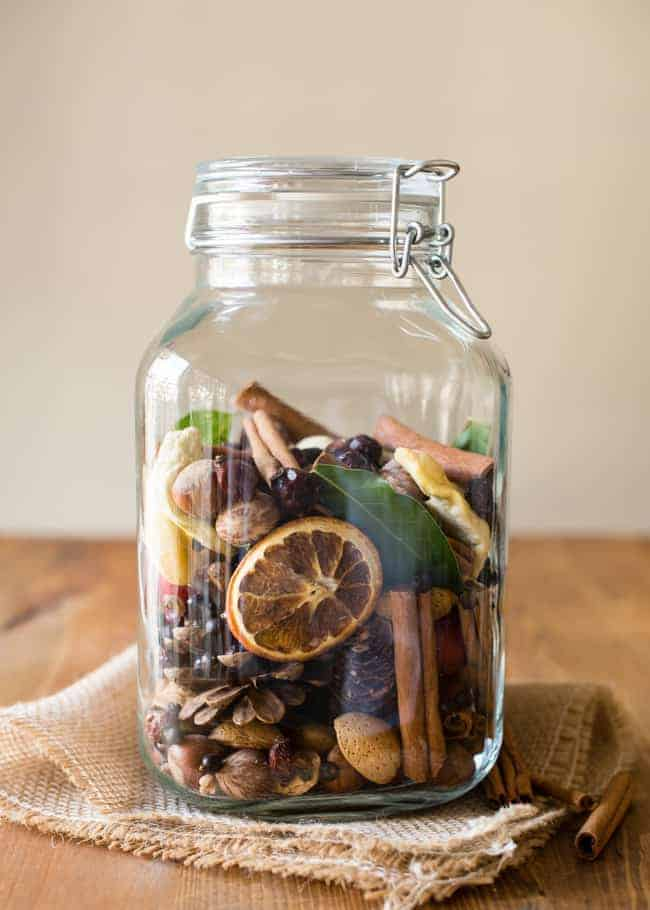 DIY fall potpourri