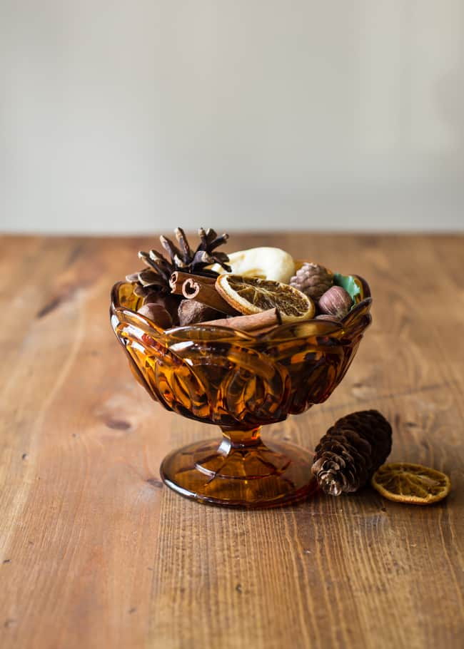 DIY potpourri for autumn