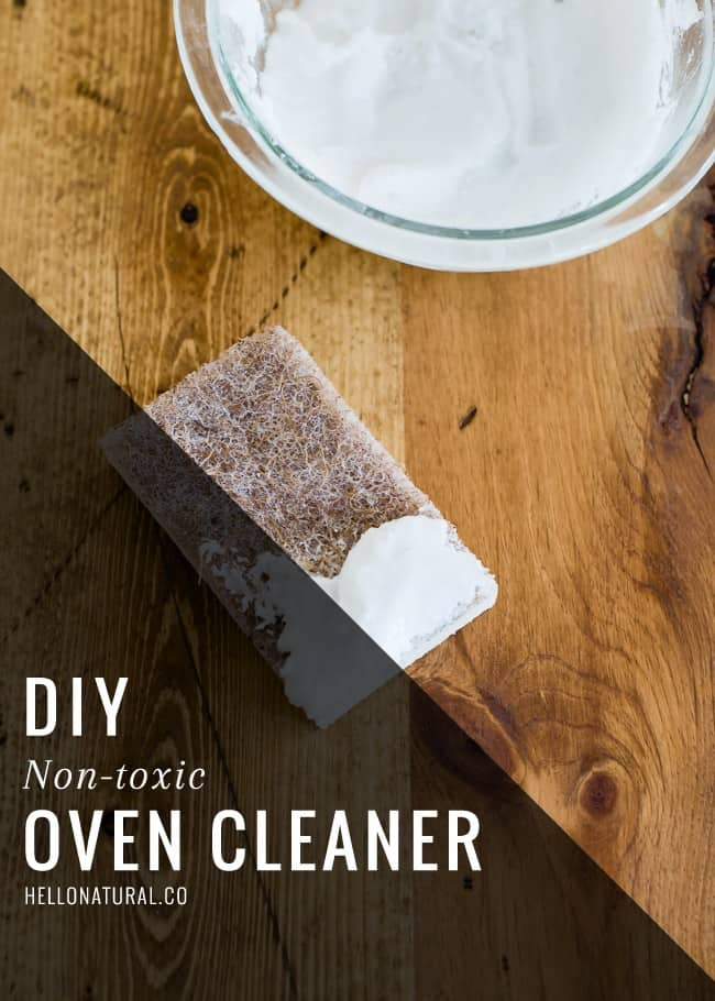 Natural Oven Cleaner | HelloGlow.co