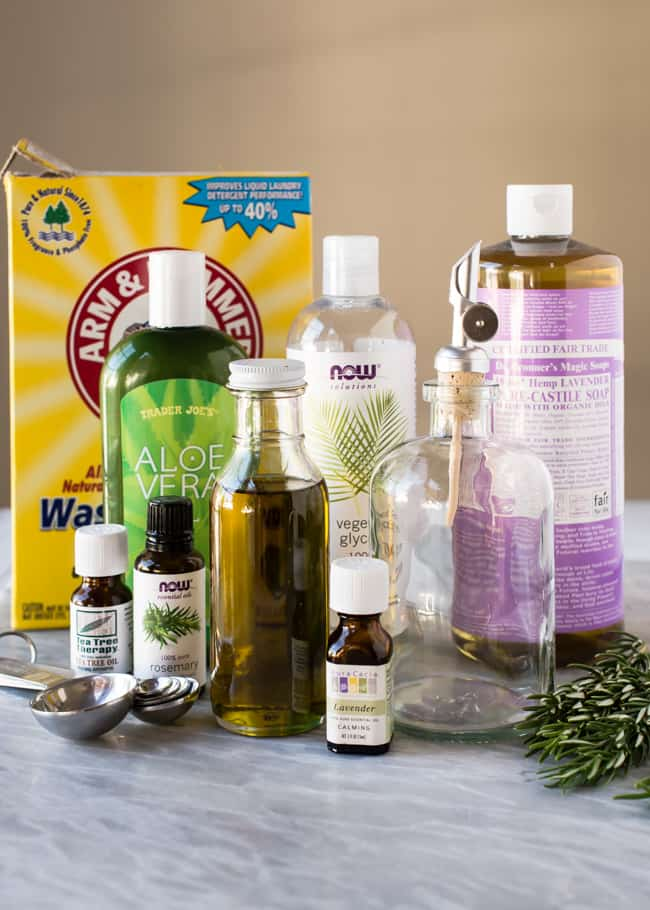 Herb-Infused Homemade Dish Soap | HelloNatural.co