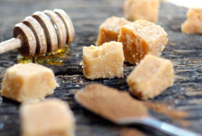 Pumpkin Spice Sugar Scrub Cubes | HelloGlow.co