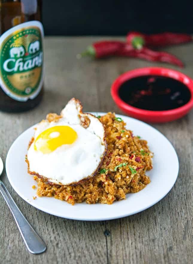 Cauliflowe Fried Rice
