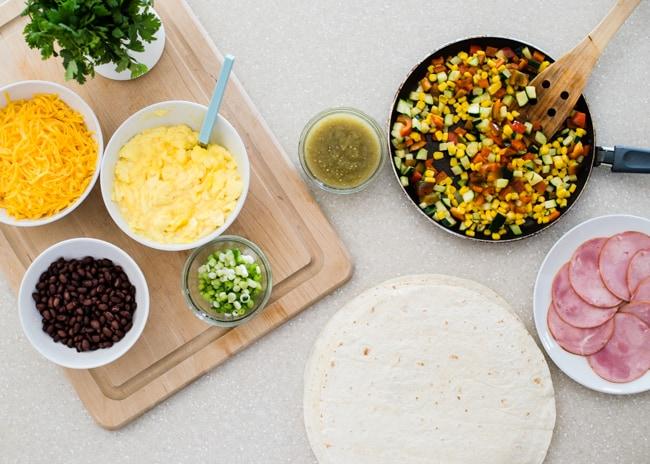Freezer Breakfast Burritos | HelloNatural.co