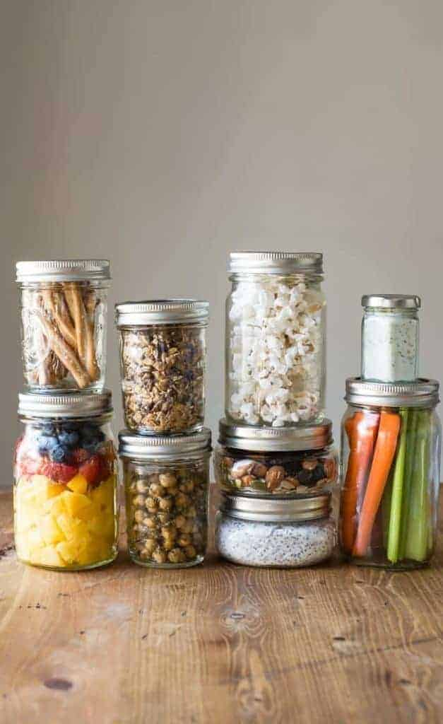 17 Healthy Snacks To Pack In Mason Jars Helloglow Co