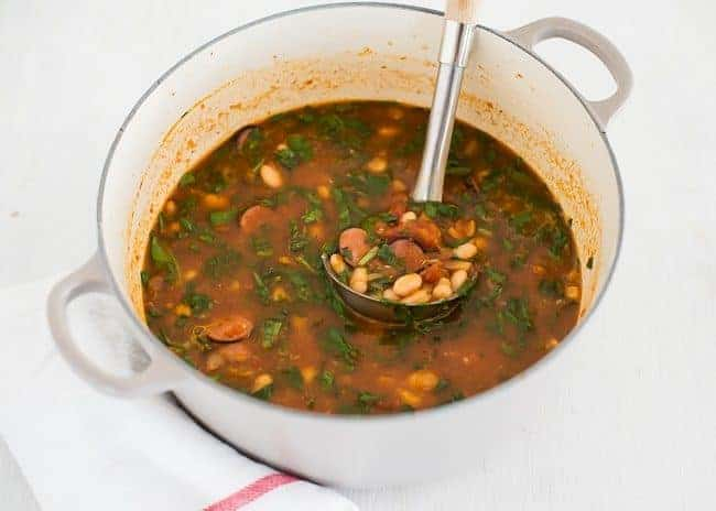 Harvest Bean Soup | HelloGlow.co