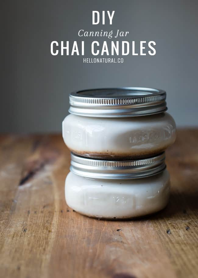 DIY Chai Candles | HelloGlow.co