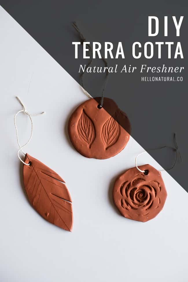 DIY Terra Cotta Natural Air Freshener | HelloGlow.co